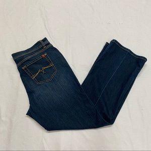 eanstar Dark Wash Jean, 12 Short